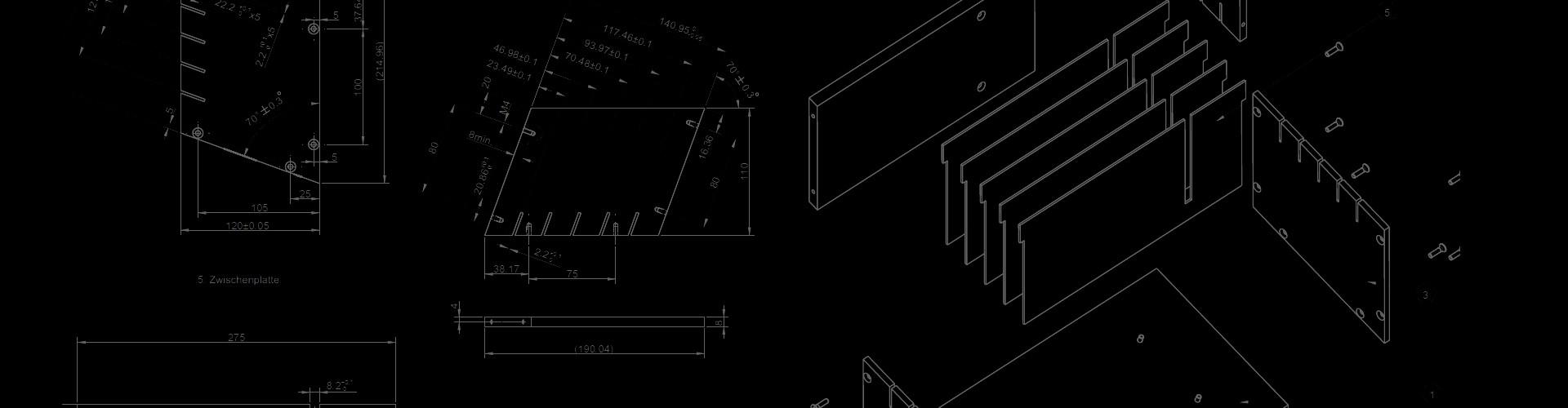 technical drawing Fiberdraft