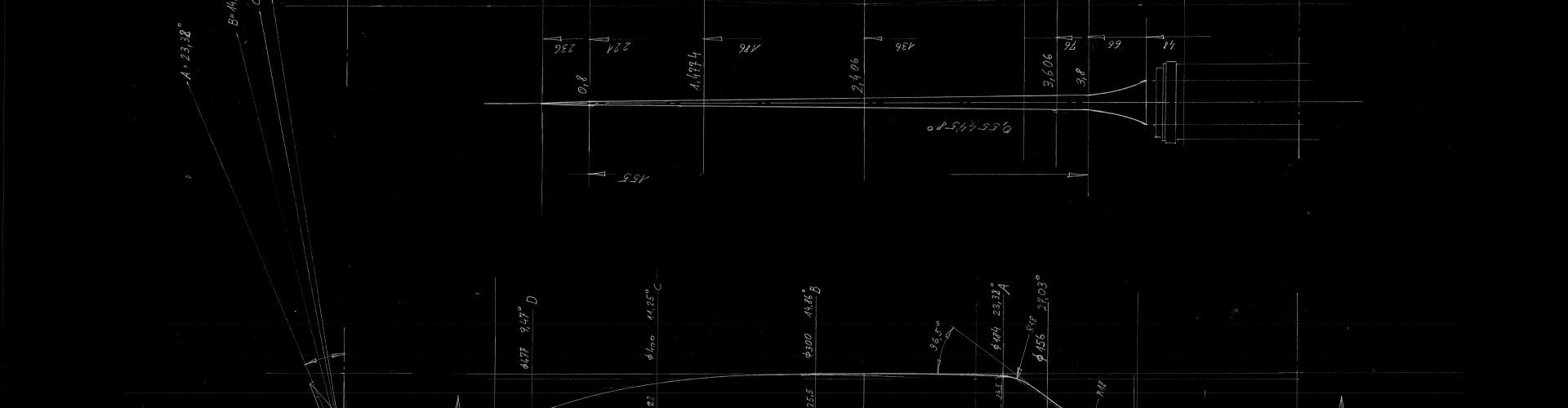 technische Zeichnung Fiberdraft